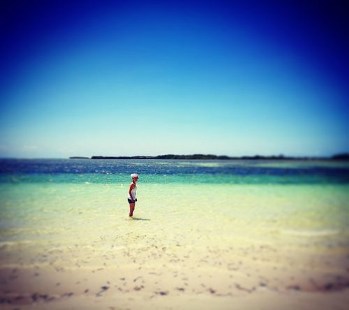 Waiting for Summer!!!! Madagascar  NosyBe Journey Trip Africa Freedom Goodtime View Adventure Happiness Beach Full Length Sea Sand Horizon Over Water Clear Sky One Person Nature Summer Vacations Water Blue