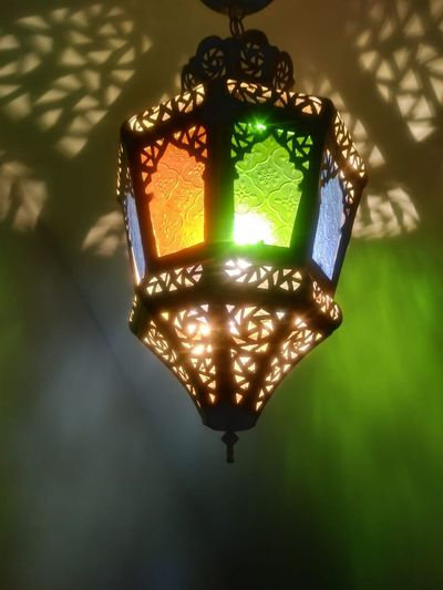 Colorful Lamps Illuminated Lighting Equipment No People Glowing Close-up Electricity  Light