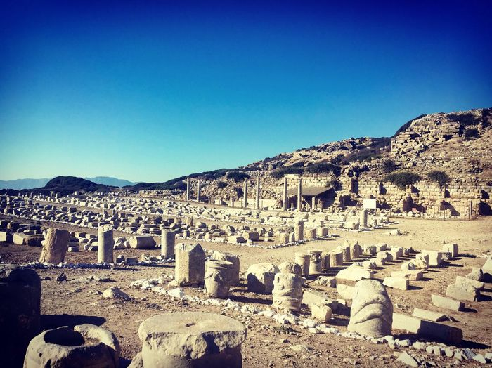 Knidos, Turkey History Old Ruin Ancient The Past Ancient Civilization Architecture Cultures Turkey Knidos Turkey Archaeology Travel Destinations Beauty In Nature Knidos