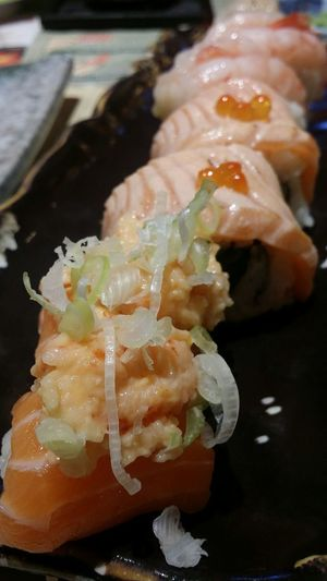 Fattening My Friend Up 46 Kg Sushi Seared Salmon Food Japan Photography Foodphotography Singapore