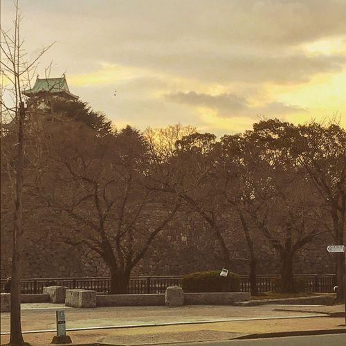 EyeEmNewHere 大阪城。