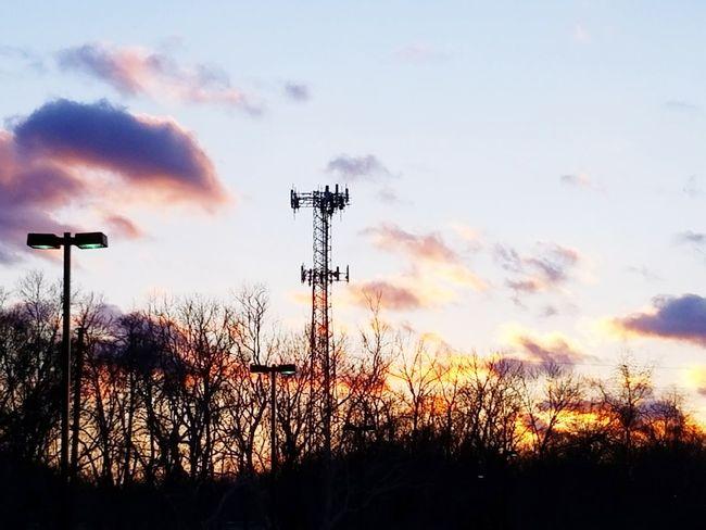 Silhouette Sky Cloud - Sky No People Outdoors Sunset Sport