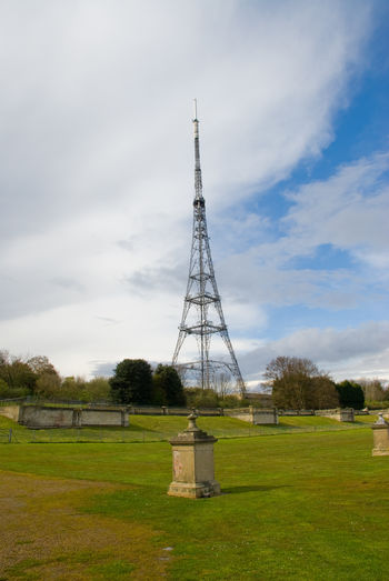 Brexit British Cloud - Sky Crystal Palace Crystal Palace Park Day England Field Grass Great Britain Green Color Landscape London Nature No People Outdoors Rural Scene Sky Tower Tree United Kingdom