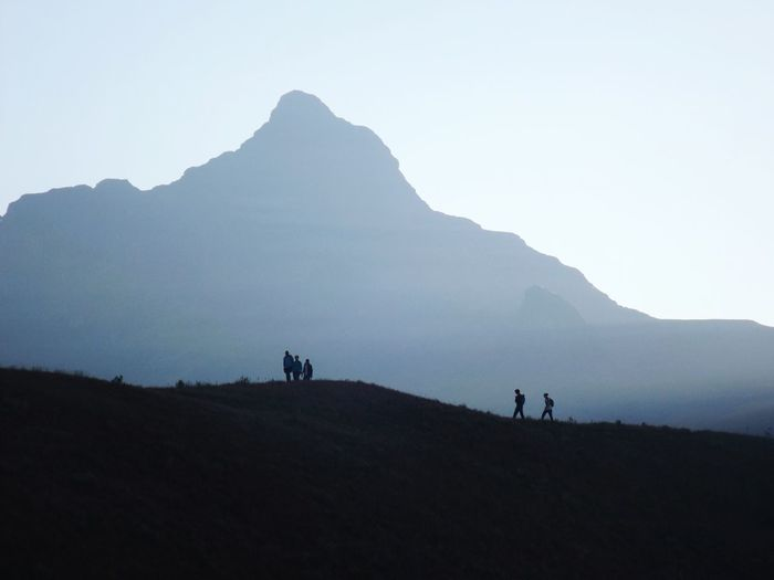 Drakensberg, South Africa Cathedral Peak Sentinel Nature Photography Mountain Landscape Silhouette Outdoors Beauty In Nature Nature Travel Destinations Hiking Adventures Mountain Range Nature Reserve Science Scenics No People Day Lost In The Landscape