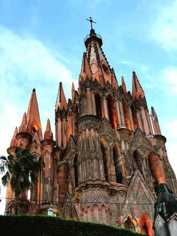 Church Gothic Architecture Church Built Structure Architecture Building Exterior Religion Belief Sky Spirituality Building Low Angle View Cloud - Sky Travel Tourism History Travel Destinations Outdoors