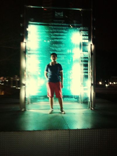 In the malecon 2000