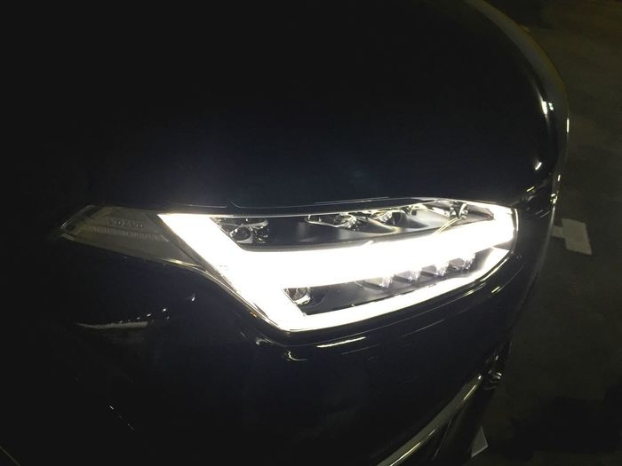 Headlight Headlamp Day Time Running Light Volvo Volvocars Volvoforlife Volvo Xc 90 T8 Thor's Hammer Illuminated High Angle View No People Close-up Car Light Bulb Stunning Investing In Quality Of Life The Week On EyeEm The Week On EyeEm
