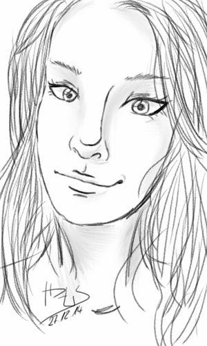 Sketchbookmobile Autodesksketchbook Yam0sdrawing Sketch Portrait Drawing Mangaart Digital Drawing My Art Sketch Art
