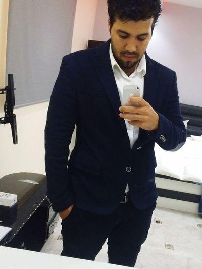 Gentelmen Awesome Today's Hot Look That's Me Smile Hello World Jeddah KSA