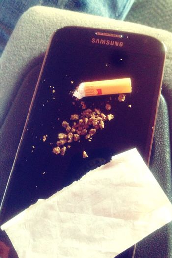 Hello World Enjoying Life Highlife Smoking Weed