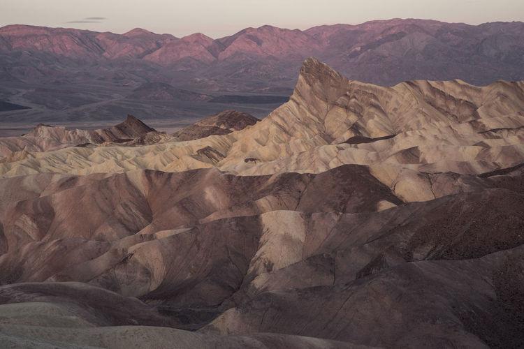 Scenics - Nature Landscape Tranquility Mountain Range Desert Travel Destinations Outdoors Natural Park