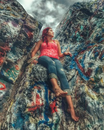 Photography Woman Beauty Captured Moment Multi Colored Day Sky Outdoors Utahgram Believe In Yourself Dreambig Lovedeep Myworld