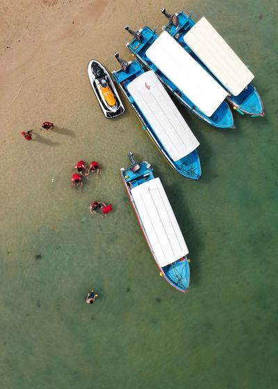 Water-sports at Tanjung Benoa, Bali. Have Fun INDONESIA Birds Eye View Dji Spark Drone Photography Tourism Indonesia Nusa Dua  Tanjung Benoa Bali Bright Colors Summer Colors Sea Beach Tourism Beach Life Beach Fun Travel Destinations Holiday Vacations Fun Jet Ski Boat Water Sports High Angle View Day Nautical Vessel Outdoors Water Nature EyeEmNewHere Fresh On Market 2017