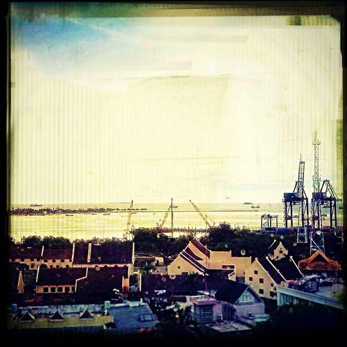 View from balaikota lt.9 Makassarcity