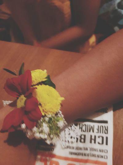 Jga party Samsungphotography Hamburg Flowerphotography Flowerband Human Hand Flower Close-up