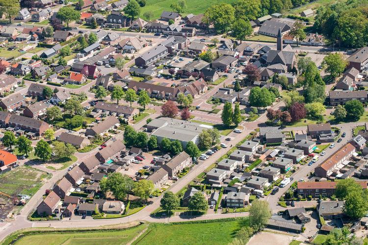 Doornspijk, Gelderland Aerial Shot Netherlands The Netherlands Aerial Photography Aerial View Doornspijk Dutch Dutch Landscape Elburg High Angle View Holland Typical Dutch
