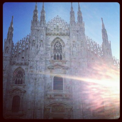 Cathedral Milano Ilovethesea Yeah sun sunshine picoftheday