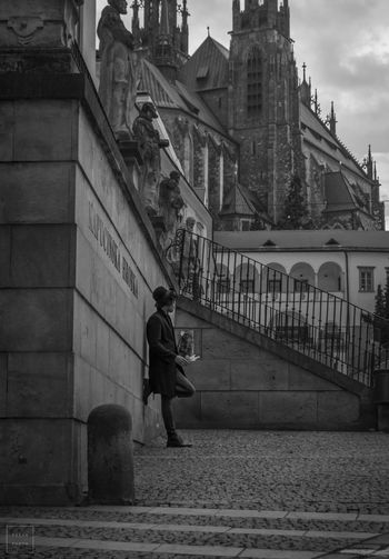 Photo Photography Boy Blackandwhite Black & White Czech Czech Republic Czechboy ArtWork Creativity Shadow Shades Of Grey Check This Out A Street Streetphotography Architecture Architecturephotography Human Afternoon
