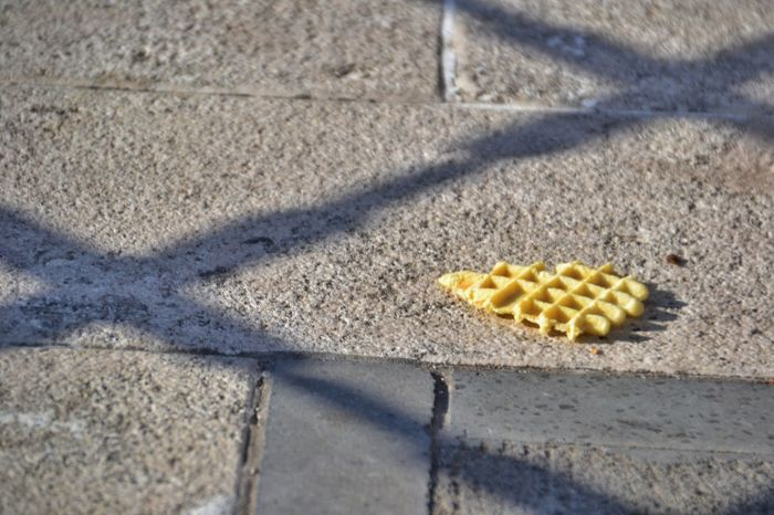 Shadow Sunlight Day No People High Angle View Outdoors Close-up Textured  EyeEm Diversity Light Biscotti Freshness Sweet Food Food And Drink Pizzella Ferratelle Grata Abruzzo Floor
