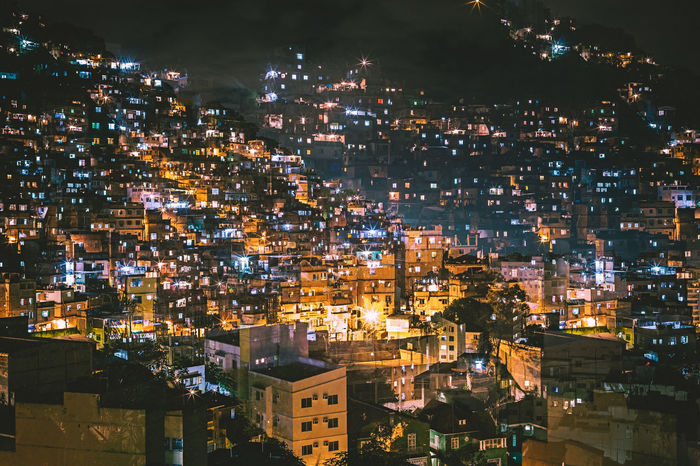 Night view of Favela Cantagalo, Rio de Janeiro - Brazil Brazil Chaos Disorder Lights Long Exposure Shot Night Lights Night Photography Architecture Building Exterior Built Structure Carioca City Cityscape Favela Favelas Illuminated Long Exposure Long Exposure Night Photography Night Night View No People Outdoors Poverty Slum Slums