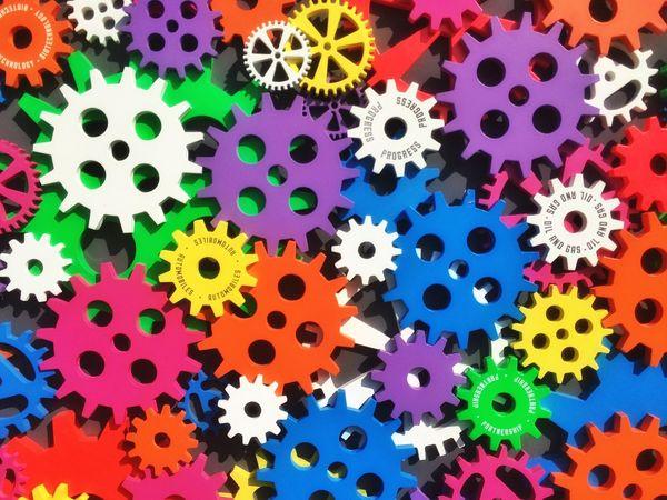 Gearwheels Colours