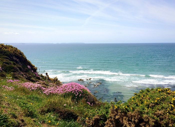 Sea Coast Coastline Pembrokeshire
