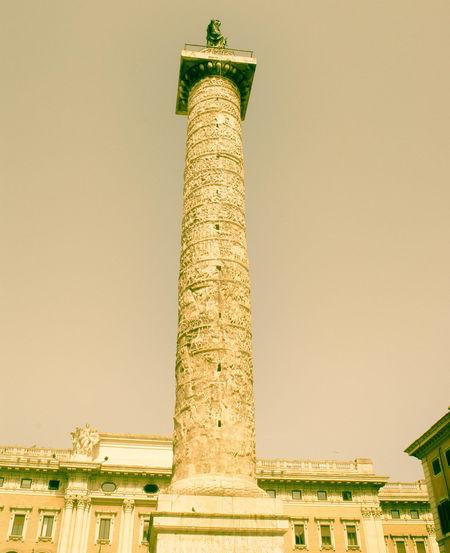 Ancient Civilization Architecture Architecture Art And Craft Built Structure Calendars Column Famous Place Historic International Landmark Monument Outdoors Rome Italy