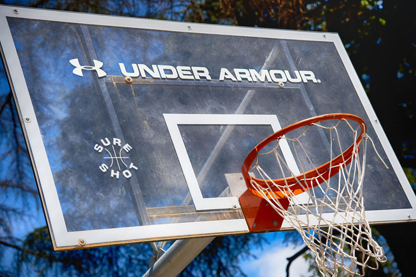 Basketball Parco Sempione Basketball - Sport Basketball Hoop Board Capital Letter Close-up Communication Day Focus On Foreground Game Guidance Information Information Sign Low Angle View No People Outdoors Script Sign Sport Text Western Script