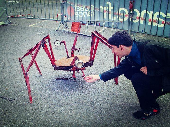 Sculpture Encounter Hands On Mechanical Animal
