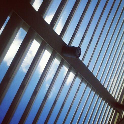 Under the blue greek sky @museum of acropolis Clouds Citylife Cloudporn I_promote_greece blue white greek greece igersgreece instamood instalovers instahub instapic instadaily instacool instagood instagramers igaddict instafamous igdaily instalovers_gr instagramhub