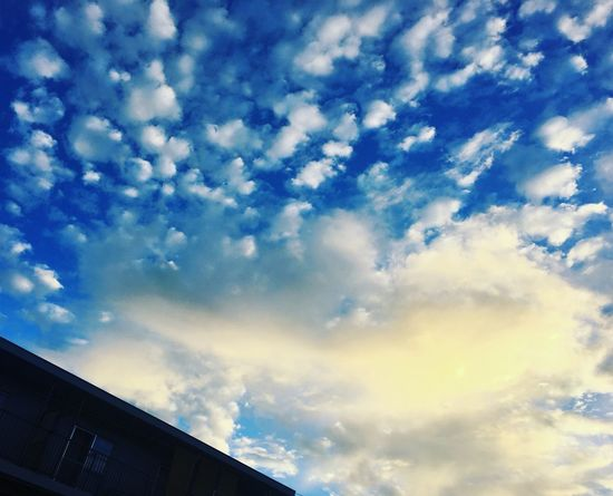 Clouds And Sky Morning Sky Summersky 今日は一本早い電車に乗り出勤!