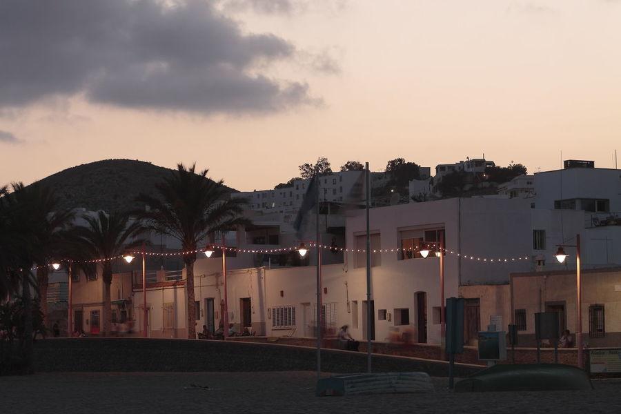 Paseo marítimo de Carboneras. Vacaciones2014 Carboneras atardecer First Eyeem Photo Nocturna