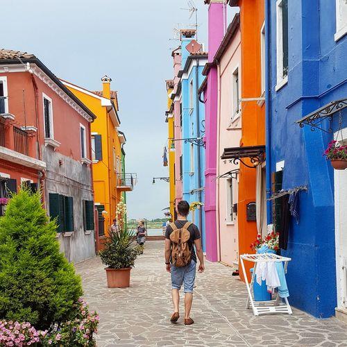 Travel Traveling Travellife Europe ItalyVenice Burano Backpacking First Eyeem Photo Colour Of Life