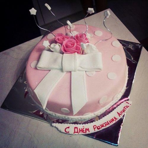 А еще у нас был очень красивый и вкусный тортик!)) Cake Birthday Coolparty Night