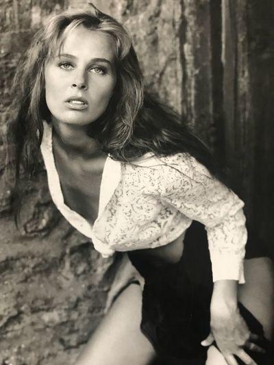 90s Fashion Model Model Modeling Shoot Blackandwhite