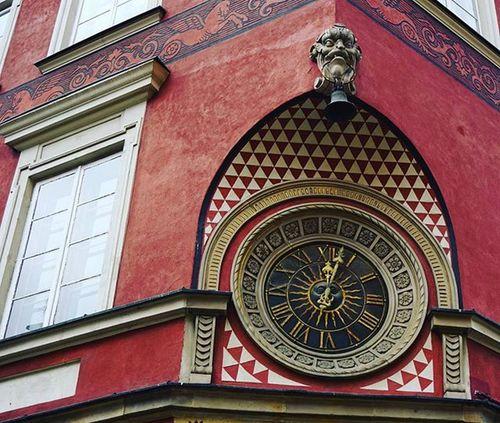 Clock Staremiasto Warsaw Oldtown Warszawa  годинник старовинний часы варшава старемісто A6000 Sony Sonya6000