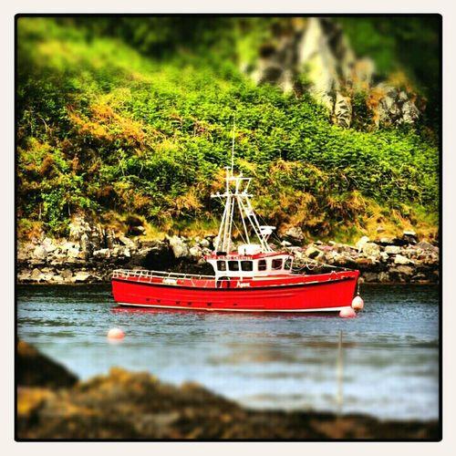 Fishing boat in Harbour...Isle of Islay