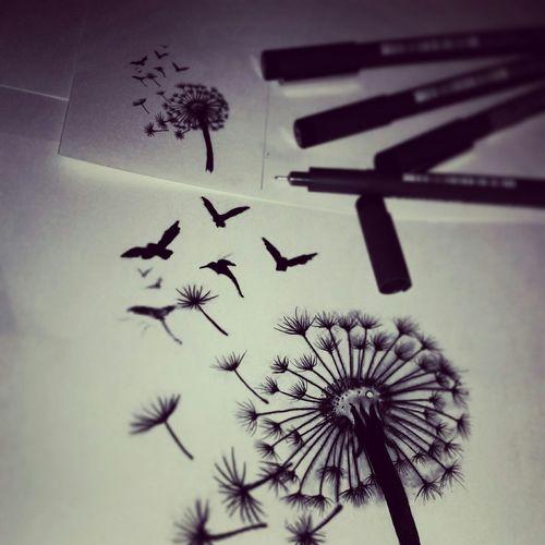 Design Drawing Flowers Picenli Handwork