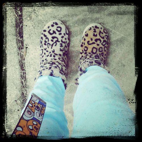 my slippers thooe. (: