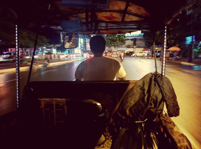 First tuktuk ride ever! Relaxing Commuting