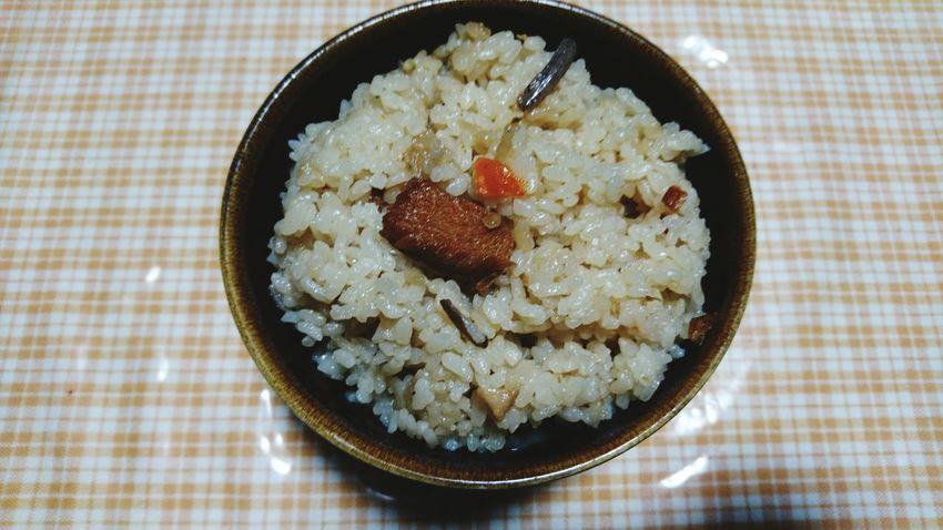 かやくご飯 Food And Drink Food Archival Rice - Food Staple Business Finance And Industry Indoors  No People Bowl Tablecloth Ready-to-eat Healthy Eating Close-up Greek Food Freshness Day
