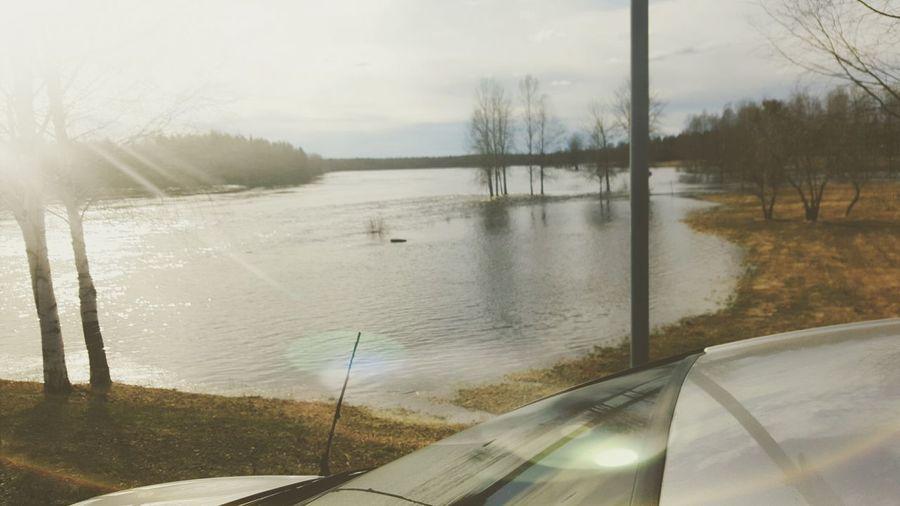 Flooding in the råne älv Taking Photos Nature Fresh Air