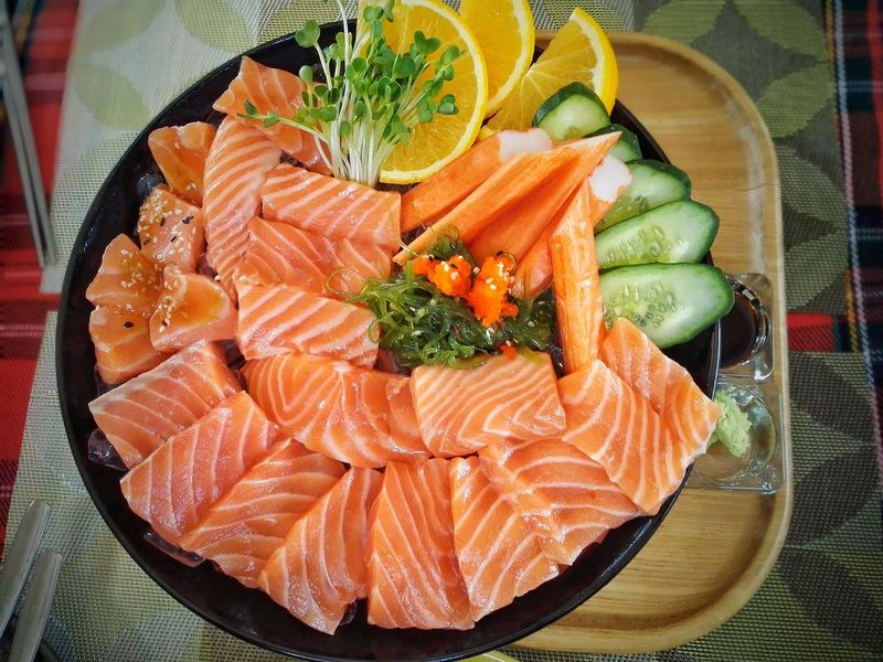 Food Japanese Food Japan Food Japan Food Sashimi Japan Food Sushi Japanese Food Lover Japanese Foods Japanese Food Lover. Japanese Food Is The Best Japanese Food Sashimi Japanese Food HuaweiP9 Selmon Japanese food for dinner......My salmon & beef set is soooooooooo ...yummy❤❤❤ Selmo Food Stories