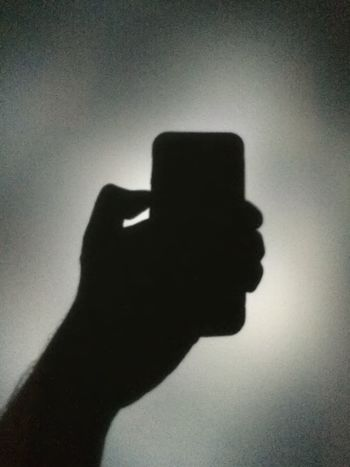 Me, My Camera And I Nightphotography Iphone5s Wall Shadow Shadow-art Night Nightshot Onlymobilephoto Hand