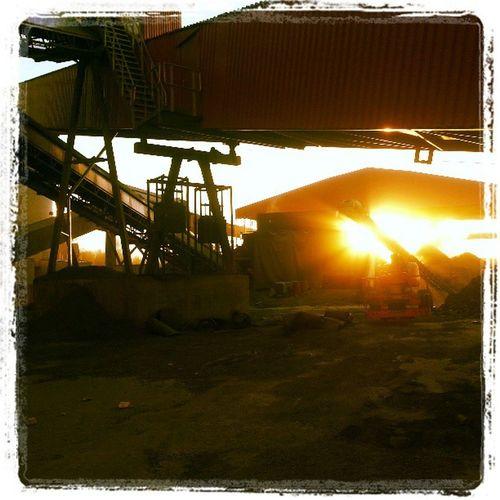 Dannemora sunrise :) Dannemora Sky Beautiful Sun amazing sunset sunriseindustrie