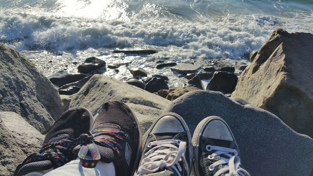 Oceanside San Diego County Southern California California Beach Life Tennis Shoes High Tide 12 Days Of Eyeem: These Are My Friends 12 Days Of EyeEm