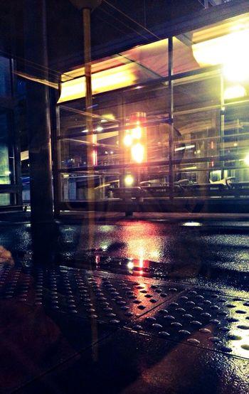 Photo à la gare RER du Stade de France Public Transportation Train Illumination Saint-Denis