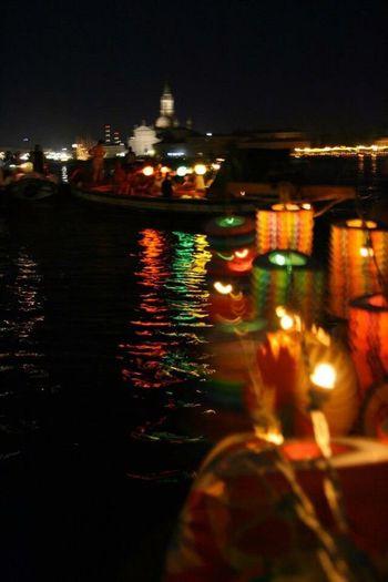 Night Illuminated Nautical Vessel Transportation Outdoors Ship Water Sky Harbor City No People Veneto Italy Italy❤️ Venice Venezia