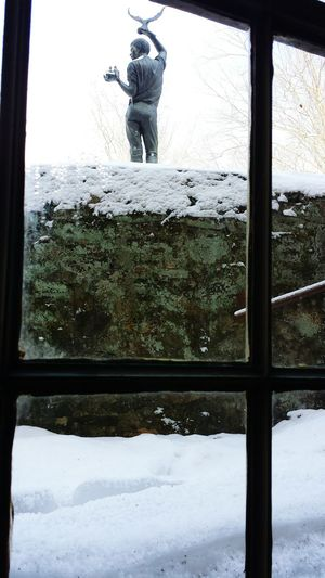 Brandywine River Museum Of Art Art Winter Pennsylvania Statue Windows Chaddsford, Pennsylvania Photos Around You