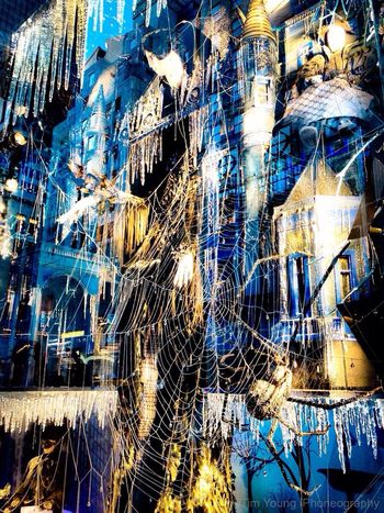 Bergdorf Goodman Christmas Window Display Manhattan Timyoungiphoneography Trapped inbetween